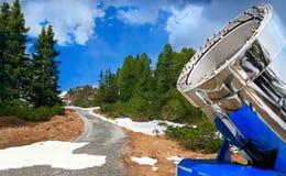 снежок карамболя alps австрийский Стоковые Фотографии RF