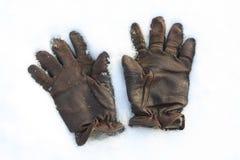 снежок кожи для перчаток Стоковое Изображение