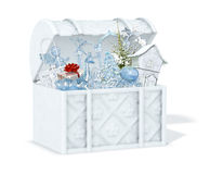 снежок коробки иллюстрация вектора