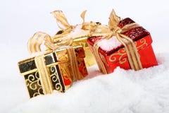 снежок коробки стоковое изображение