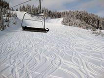 снежок курорта Стоковая Фотография RF