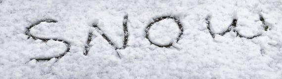 Снежок на снежке Стоковые Изображения RF