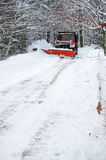 снежок плужка Стоковые Фотографии RF