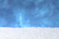 снежок предпосылки Стоковое фото RF