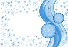 снежок предпосылки Стоковое Изображение