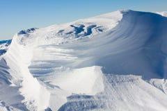 снежок предпосылок Стоковое Изображение