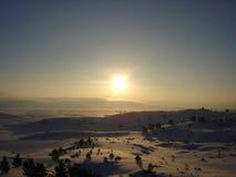 снежок рассвета Стоковые Изображения RF