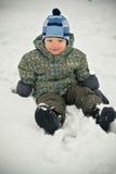 снежок ребёнка Стоковая Фотография