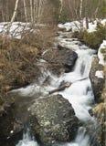 снежок реки Стоковые Фотографии RF