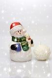 снежок рождества Стоковая Фотография