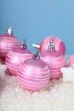 снежок светов рождества шариков предпосылки argb голубой Стоковые Изображения RF
