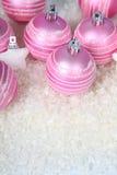 снежок светов рождества шариков предпосылки argb голубой Стоковая Фотография RF