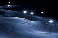 снежок светов Стоковое Изображение RF