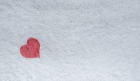 снежок сердца элемента конструкции Стоковое Изображение RF