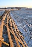 снежок смещения барьера Стоковое Фото