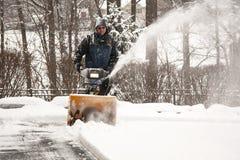 снежок удаления Стоковое Изображение