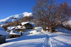 снежок хат стоковая фотография rf