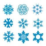 снежок хлопьев Стоковое Изображение RF
