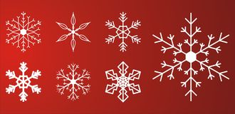 снежок хлопьев стоковые изображения