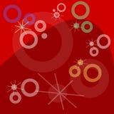 снежок хлопь предпосылки Стоковое Изображение RF