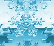 снежок хлопь Стоковая Фотография RF