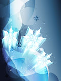 снежок хлопь Стоковое фото RF
