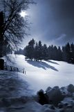 снежок холма Стоковое фото RF