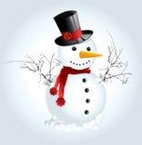 снежок человека Стоковые Изображения