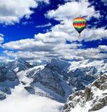 снежок Швейцария гор стоковое фото rf