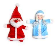 снежок claus девичий santa стоковая фотография