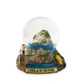 снежок ischia глобуса Стоковая Фотография RF
