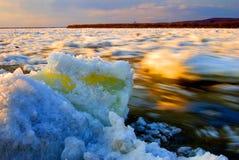 снежок melt льда heilongjiang Стоковые Фото