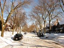 снежок milwaukee жизни падения тяжелый Стоковое Изображение RF