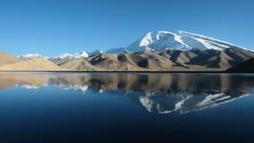 снежок pamir горы стоковые изображения