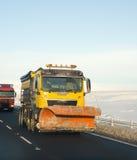 снежок plough Стоковые Изображения RF