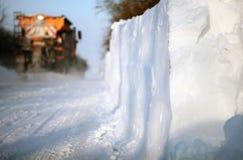 снежок plough Стоковая Фотография RF