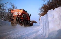 снежок plough Стоковое Фото