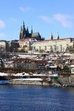 снежок pragues замока готский последний Стоковое Фото