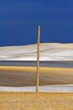 снежок saskatchewan холмов Стоковое Изображение RF