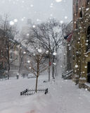 снежок york города новый Стоковая Фотография