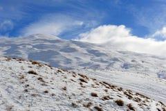 снежок zealand гор новый Стоковые Изображения RF