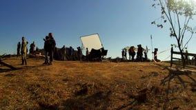 Снимать ` границы Ilyinsky ` фильма в зоне Kaluga России акции видеоматериалы