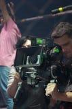Снимающ блокбастер кино ратник Стоковая Фотография RF