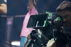 Снимающ блокбастер кино ратник Стоковое фото RF