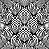 Снованная дизайном картина проверенная monochrome иллюстрация вектора