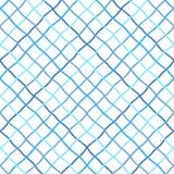 Снованная, передернутая, неровная решетка, картина рыболовной сети безшовная иллюстрация вектора