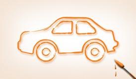 сновидение автомобиля Стоковое Фото