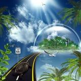 Сновидение лета Стоковое Изображение