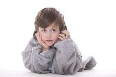 сновидение мальчика стоковые фото