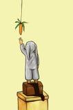 сновидение моркови Стоковое фото RF